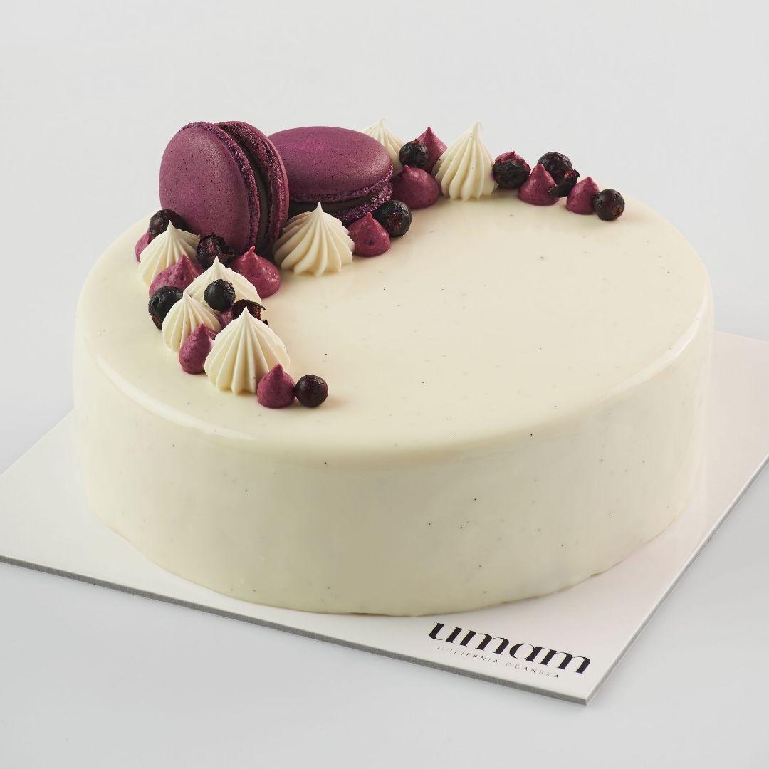 Tort Porzeczka - Wanilia UMAM